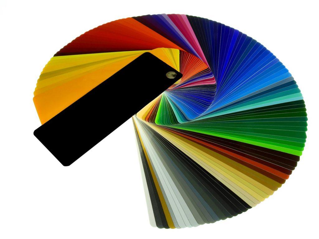 Carta de colores de Pintura y Decoración Pintarte