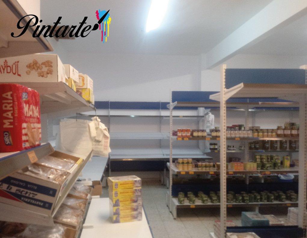 """Interior pintado para Dulces """"El Mateño"""" en Bargas (Toledo)"""