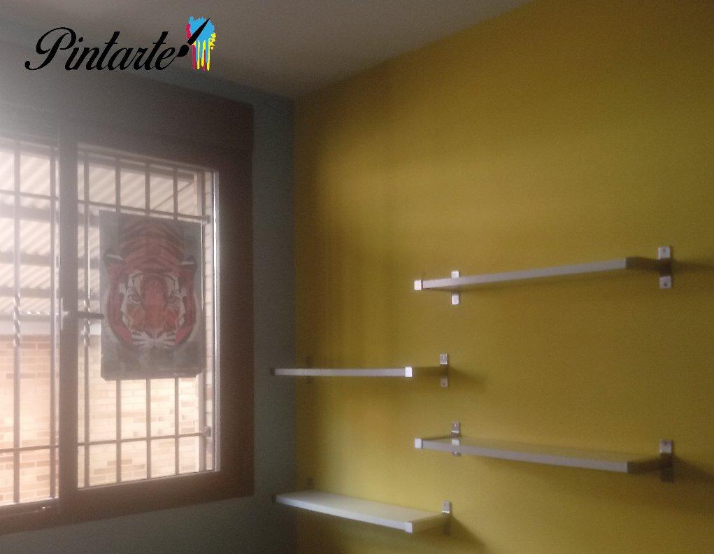 Habitaciones pintadas en Toledo